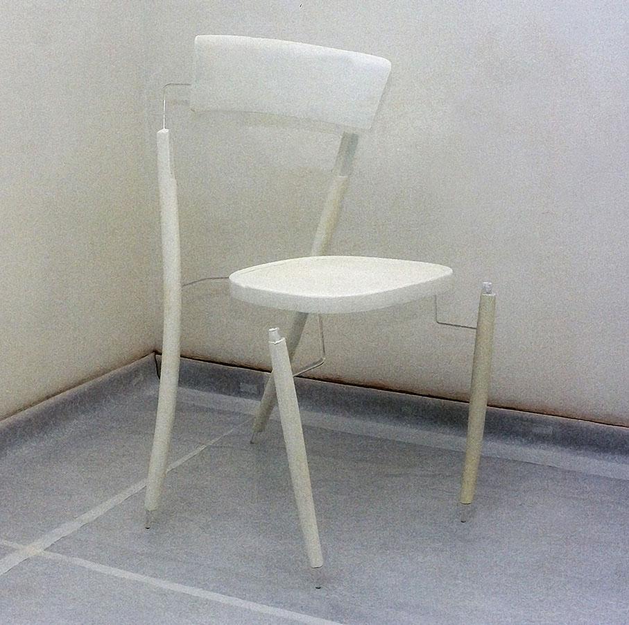 sedia, plex, cm 40x100x30