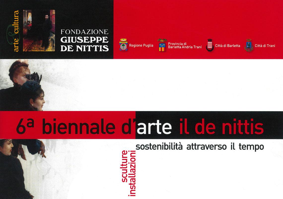 "VI Biennale d'arte ""il De Nittis"""